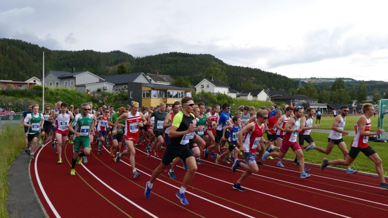 Tronderostløpet 2019 start