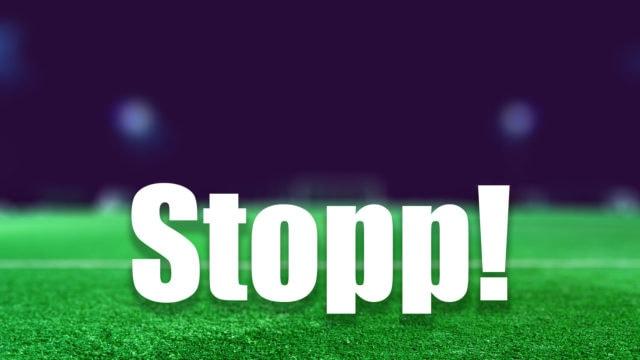 football-stopp